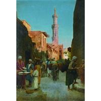 an orientalist market by federico bartolini