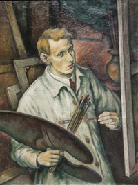 self-portrait by boris kolev