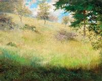 impressionistic landscape by laszlo hegedus