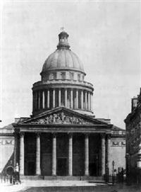 le panthéon by louis désiré blanquart-evrard
