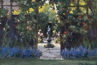 sunlit garden by patrick william adam
