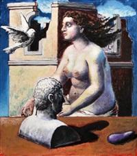 das musische zeitalter painting by hermann albert