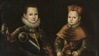 ritratti di emanuele filiberto e del cardinale maurizio di savoia by jan kraek
