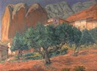 penas y olivos en rioja by fernando de amarica