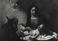 the holy family by giuseppe angeli