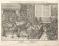 et la mort du roy henry deuxième aux tournelles à paris, le x. juillet by tortorel & perissin