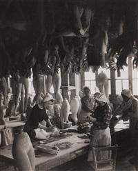 mannequin factory by robert doisneau
