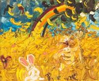 rainbow and wheatfield by john de burgh perceval