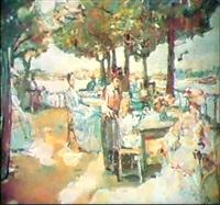 une journee estivale by mstislav pavlov