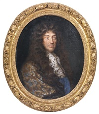 portrait dit du marquis de pomponne by pierre mignard the elder