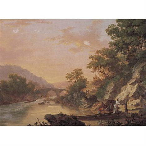 view of killarney with the passage to the upper lake by william ashford