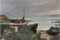 a boat party in the west highlands by james guthrie
