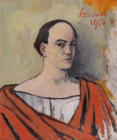 autoportrait à la toge by pierre paul girieud