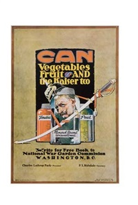 can vegetables fruit and the kaiser too by j. paul verrees