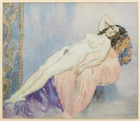 nude by norman alfred williams lindsay
