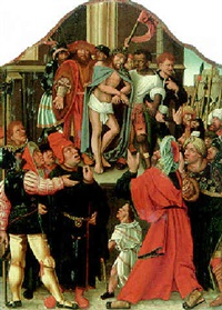 ecce homo by master of saint sang