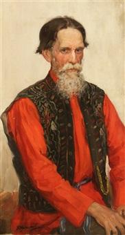 merchant by ivan semionovich kulikov