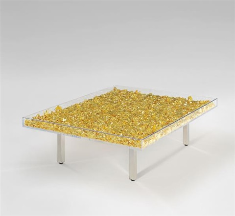 Table or by yves klein on artnet for Table yves klein