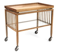 tea trolley (w/ detachable tray) by haus & garten