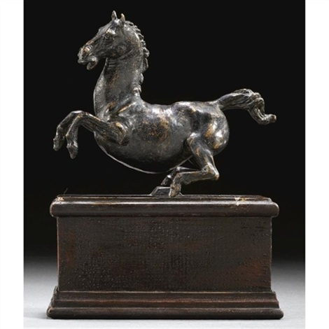 rearing horse by leonardo da vinci