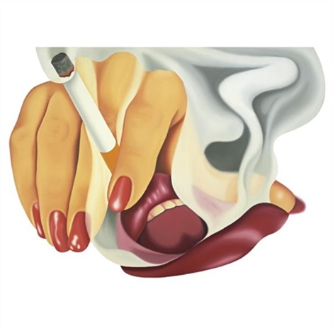 smoker 17 by tom wesselmann