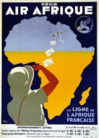 régie air afrique by a. roquin