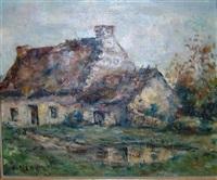 les domes a l'automne (+ maison dans la campagne; 2 works) by louis mery