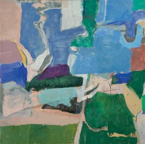 berkeley 5 by richard diebenkorn