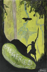 siegfried (bird) by peter doig