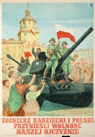 żołnierz radziecki i polski  by wladyslaw janiszewski