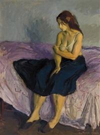 elissa by raphael soyer