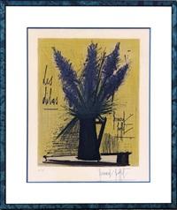 bouquet de lilas by bernard buffet