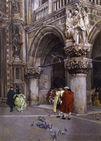 scorcio di palazzo ducale by giuseppe vizzotto alberti
