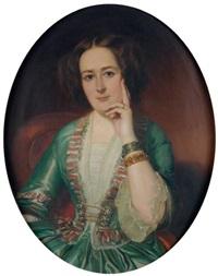 portrait de femme by charles jean baptiste colson