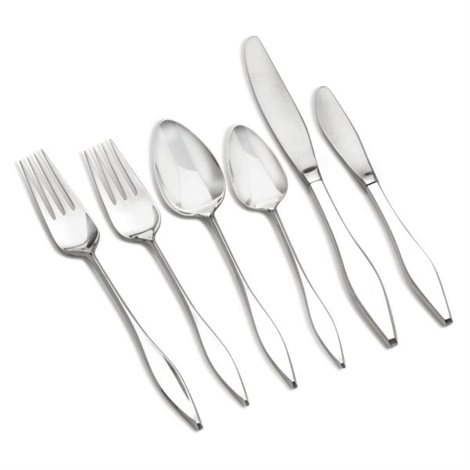 lark flatware service set of 80 by john prip