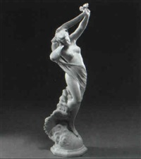 figure of diana by f. andraun