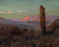 desert sunset, new mexico by john bond francisco