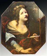 sainte cécile by cesare dandini