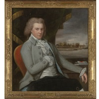 portrait of general gershom burr of bushwick (brooklyn), new york by ralph eleaser whiteside earl