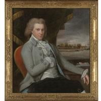 portrait of general gershom burr of bushwick (brooklyn), new york by ralph eleaser whiteside earl