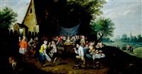 le couronnement de la rosière by ferdinand van apshoven