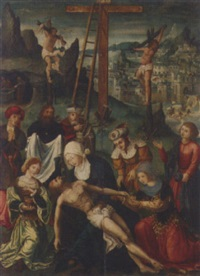 the lamentation by jan de beer