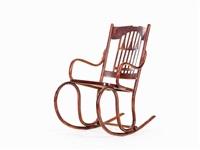 rocking chair by j. & j. kohn