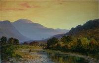 evening on the echaig by james docharty