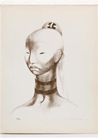 impresiones subjetivas sobre el libro sagrado de los antiguos mayas. chilam balam de chumayel (portfolio of 11) by guillermo meza