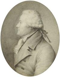 portrait d'homme de profil by jean baptiste jacques augustin