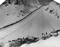 chilkoot pass (pair) by henry goetzman