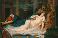 the death of cleopatra: the stroke of death, etc. by reginald arthur