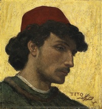 portrait of tito by elihu vedder
