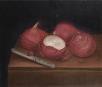 cebollas españolas (spanish onions) by fernando botero